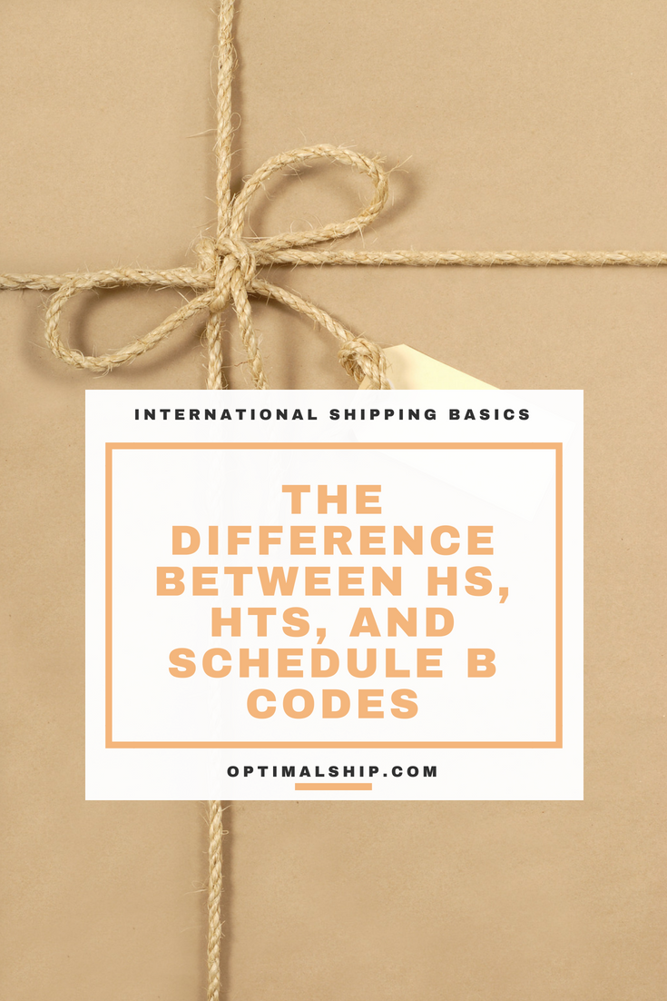 The Difference Between HS, HTS, and Schedule B Codes