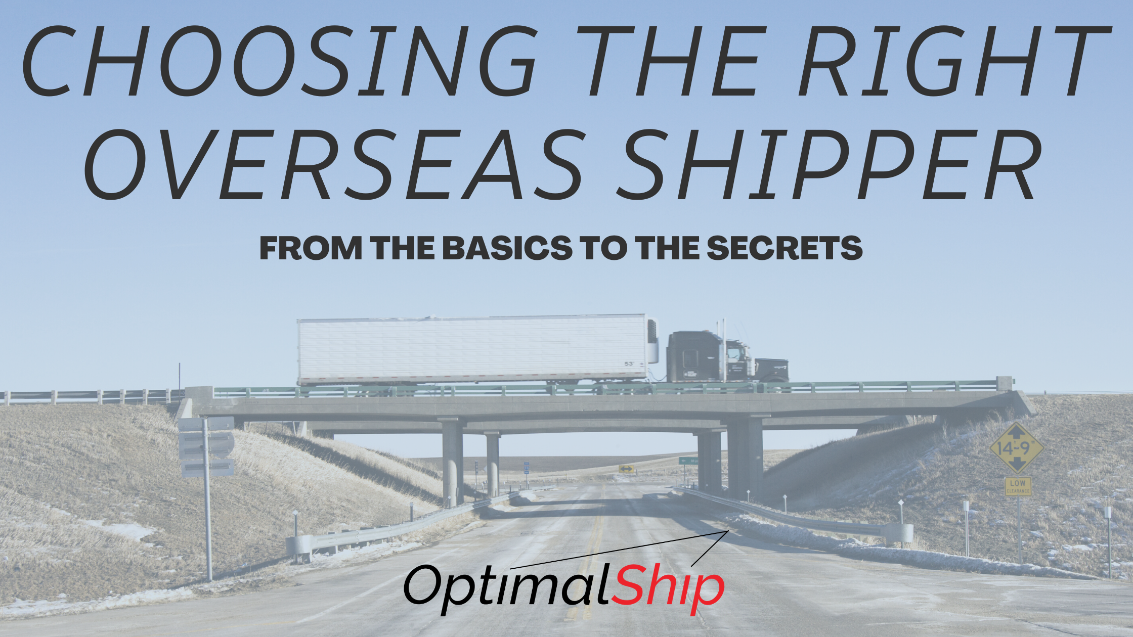 How to Choose the Best Overseas Shippers