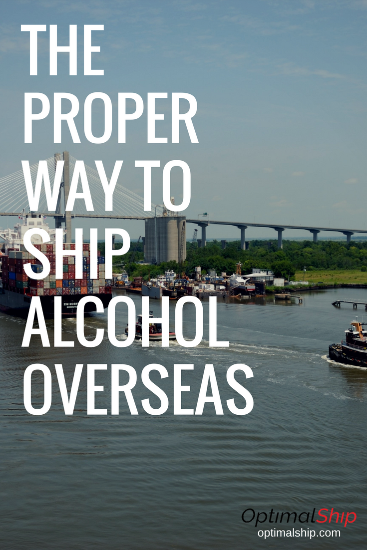 How to Ship Alcohol Overseas